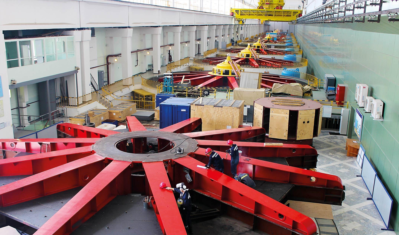 Началась замена гидросилового оборудования Воткинской ГЭС